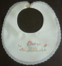 #Baby Carriage Bib#