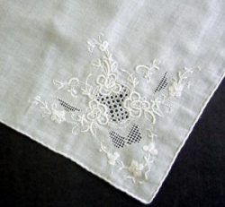 White Embroidery and Drawn Work