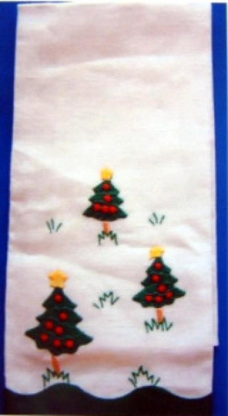 Christmas Trees Guest Towel
