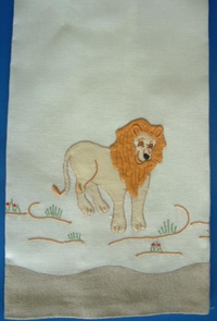 #Lion Guest Towel#